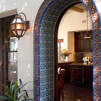 Mexican Tile in doorways