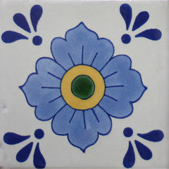 solid color mexican tile