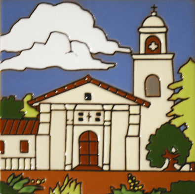 Historic Mission Mexican Tile