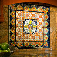 Mexican Tile in Kitchens