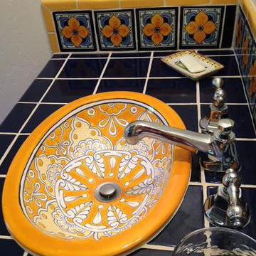 Mexican Tile In Bathrooms Mexican Tile Designs