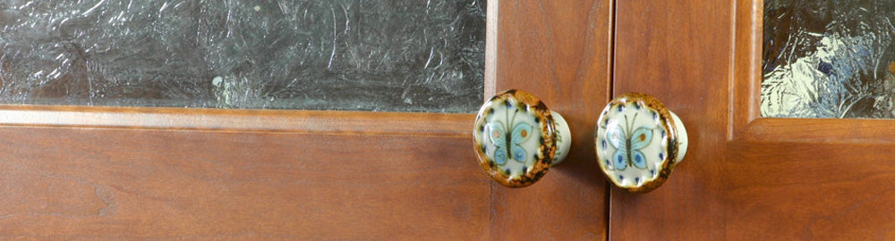Hand Painted Artisan Mexican Knobs Mexican Tile Designs