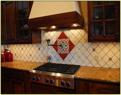 Mexican Tile Backsplash