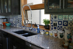 Mexican Tile Backsplash decorative
