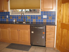 Mexican Tile Backsplash kitchen area