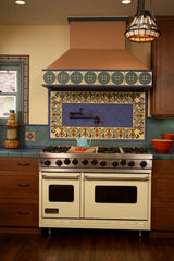 Mexican Tile Kitchen Stovetop Mural