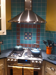 Mexican Tile Kitchen Stovetop