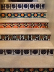 Mexican Tile Staircase