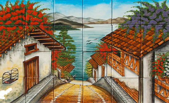 Mexican Tile Murals Shop For Free Shipping At Mexican