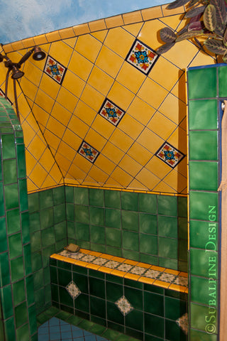 Mexican Tile Shower Tub Gallery Mexican Tile Designs