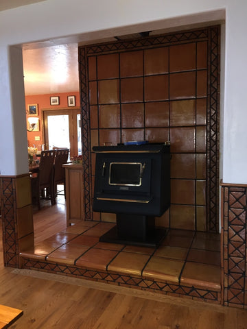 Images Pictures And Ideas For Mexican Style Fireplaces