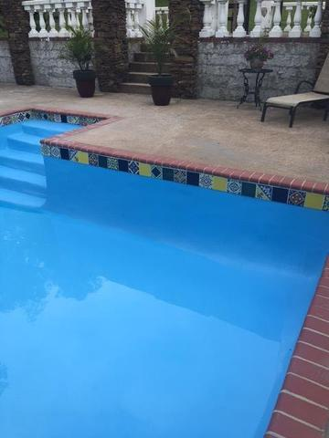 mexican tile accents pool tile