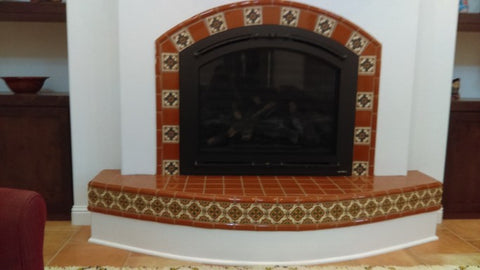 Images Pictures and ideas for Mexican Style Fireplaces Mexican