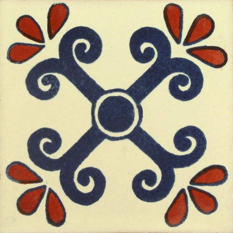 Traditional Decorative Mexican tile San Miguel