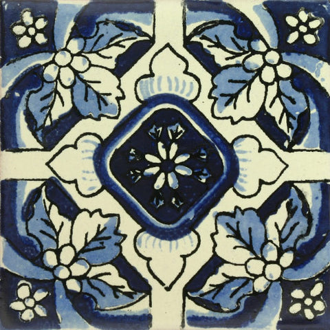 Traditional Spanish Tile - Dienta De Leon