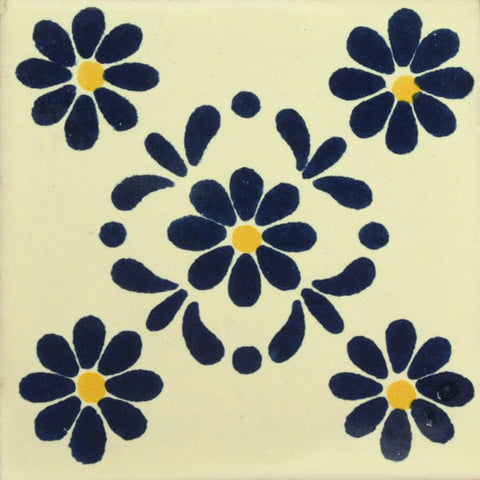 Traditional Decorative Mexican tile Roberta