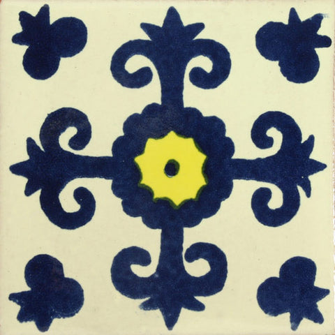 Traditional Decorative Mexican tile cross