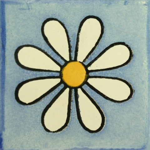 Traditional Mexican Tile - Amapola