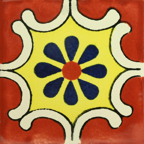 Traditional Mexican Tile - Arabesque