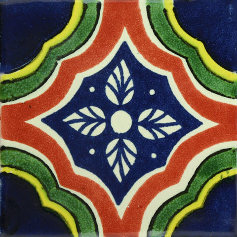 Traditional Mexican Decorative tile Palacio