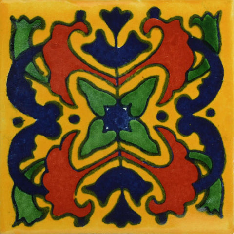 Traditional Mexican Tile - Azalea