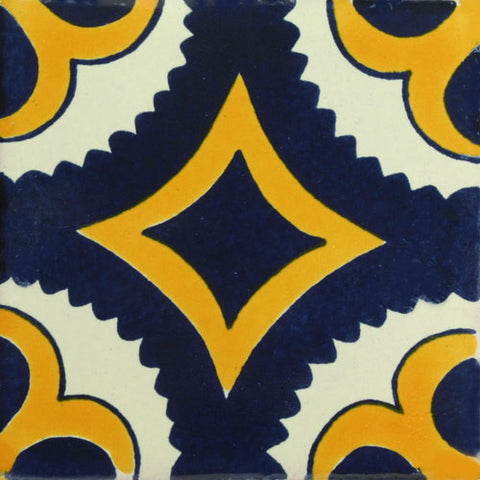 Traditional Mexican Tile - Puebla II