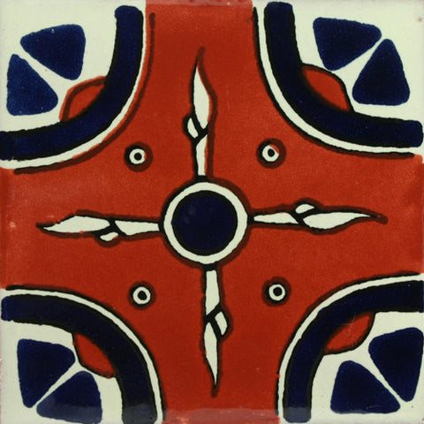 Traditional Mexican Decorative tile- Navajo