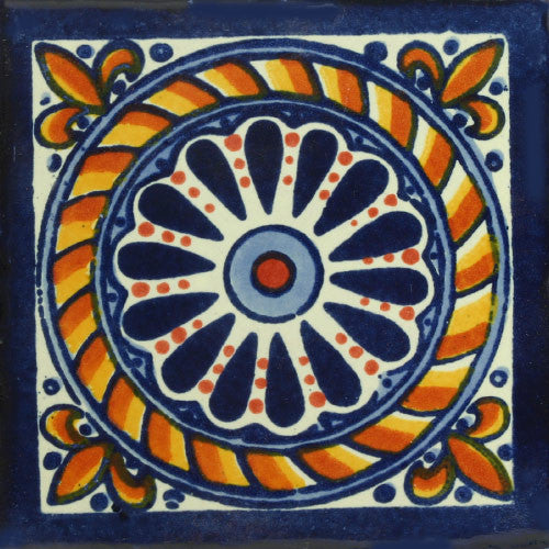 Traditional Mexican Tile Cuerda Mexican Tile Designs