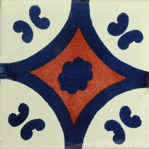 Traditional Mexican Tile - Puebla