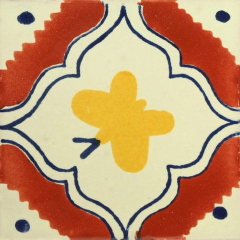 Traditional Mexican Tile - Butterfly