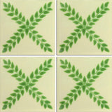 Traditional Mexican Tile - Arbol Verde