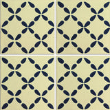 Traditional Mexican Tile - Clover