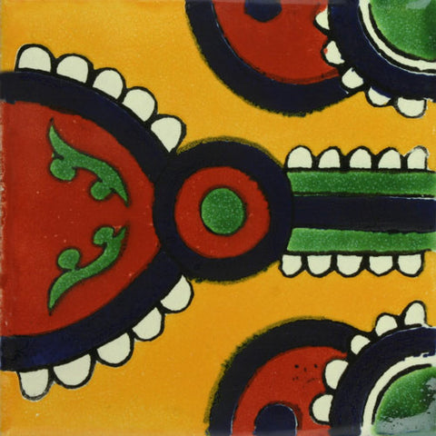 Traditional Mexican Tile - Indian