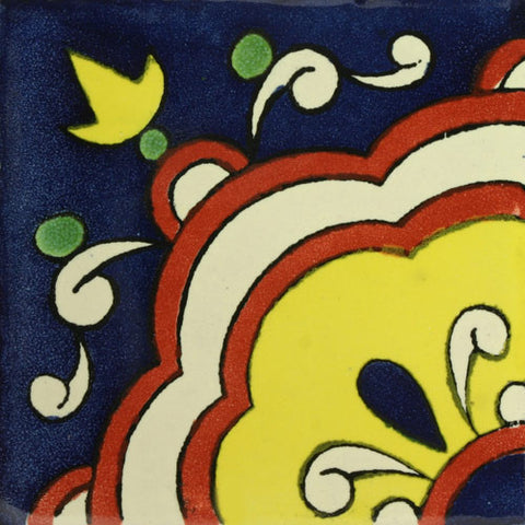 Traditional Spanish Tile Cupula IV Mexican Tile Designs
