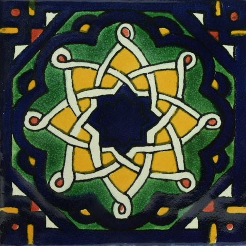 Traditional Mexican Tile - Brasilia