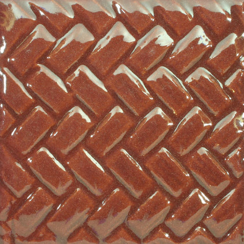 Traditional Mexican Tile - Petatillo, Marron