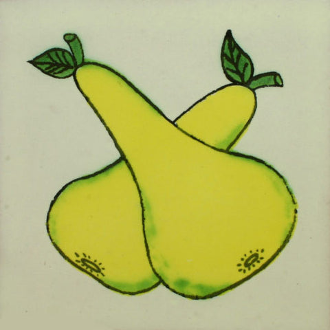 Traditional Decorative Mexican tile - Pears
