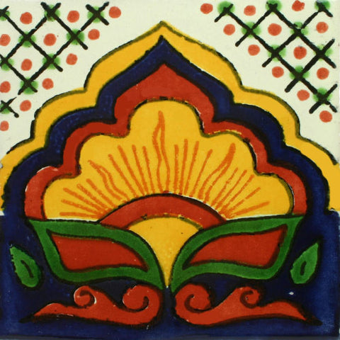 Traditional Mexican Talavera tile