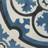 Circular design cement encaustic tile