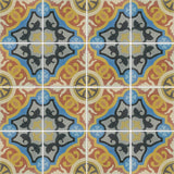 Zamora Encaustic Cement Tile