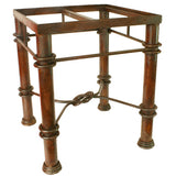 Mexican Tile Wrought Iron Table Estrella
