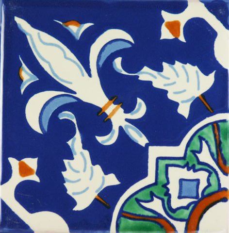 Espcecial ceramic Mexican decorative tile - Imperial