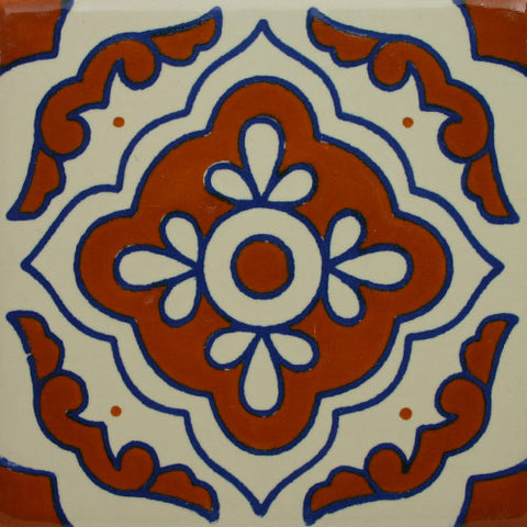 Especial Ceramic Mexican Decorative Tile - Toledo
