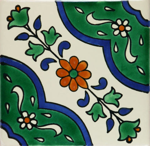 Ceramic Mexican tile Zamora