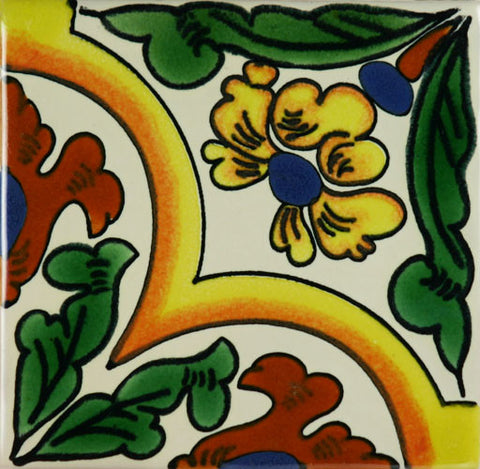Ceramic Mexican tile