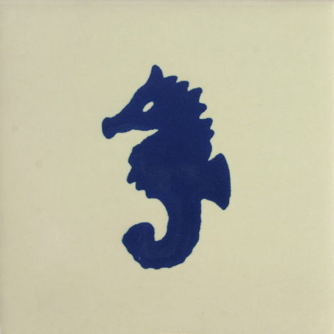 Especial ceramic Decorative Mexican Tile - Sea Horse