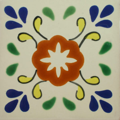 Especial Decorative Mexican Tile - Dondiego Del Dia