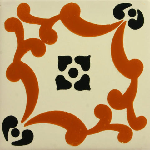 Especial Decorative Ceramic Mexican Tile - San Andres