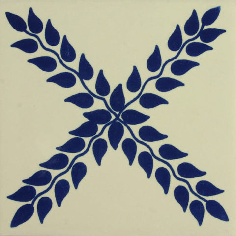 Especial ceramic Spanish decorative tile - amapola