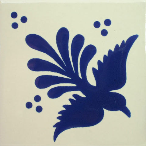 Premium ceramic Mexican Decorative Blue bird tile